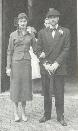 Erna en Anton Heijboer in de jaren '50