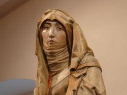 Riemenschneider - Treurende Maria (Mainfränkisches Museum, Würzburg, 1505)