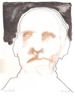 Lucebert, zonder ttel (7 december 1981) 21x27 cm