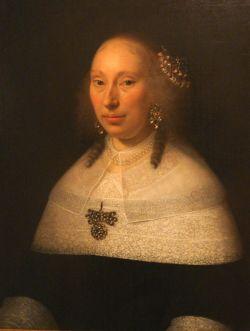 vrouw, gezien in Elsene