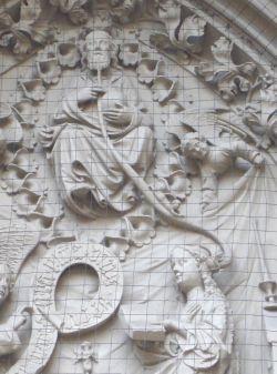 Verkondiging (1420) - anoniem