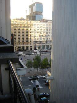 de twee hotels in 2006, gezien vanuit het Hotel des Colonies