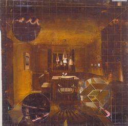 'Stube', Matthias Weischer (2005)