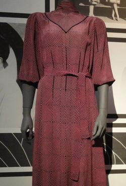 ontwerp, stof en al, van Sonya Delaunay, jaren'20
