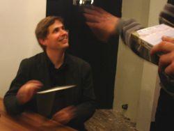 Kehlmann signeert