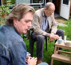 Wim Brands, hier met A.L.Snijders