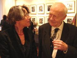 L.Th.Lehmann, hier met Anneke Brassinga (2006)