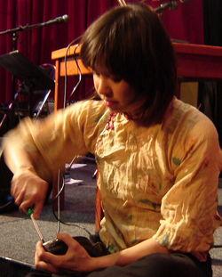 tapdancer Marije Nie stelt haar ijzertjes scherp