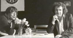 rustig moment in de keuken in Amsterdam-Noord (jaren '80)