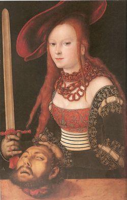 Judith met het hoofd van Holofernes (ca. 1530)