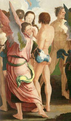 Lucas van Leyden - Laatste oordeel (détail) 1526-1527
